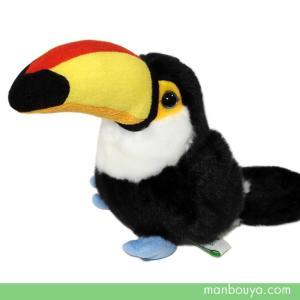 可愛い動物や海の生き物のぬいぐるみメーカー「キュート販売」さんのオオハシのぬいぐるみ。 中南米の熱帯...