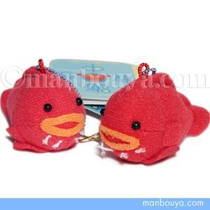 丸い形が可愛い赤いダンゴウオ(フウセンウオ)の小さいぬいぐるみ。 お腹の吸盤もちゃんとありますよ。水...