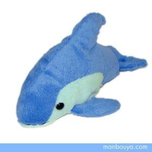 イルカのぬいぐるみ 水族館 グッズ 海の生き物 海中散歩おともだちビーンズ カマイルカ15cm まんぼう屋ドットコム|manbouya