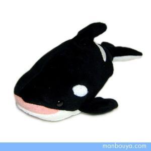 シャチのぬいぐるみ 水族館 グッズ 海の生き物 海中散歩おともだちビーンズ オルカ17cm まんぼう屋ドットコム|manbouya