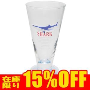 サメグッズ グラス/ガラス製コップ サンセラ工芸 シャーククリアピルスナーグラス|manbouya
