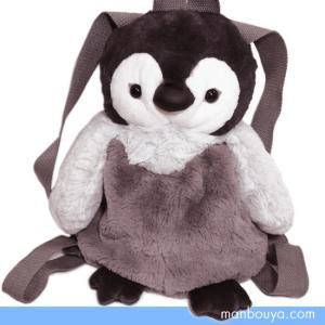 ペンギン リュック ぬいぐるみ 水族館グッズ サンレモン フラッフィーズリュッ ペンギン ヒナ36cm|manbouya