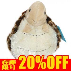 オーロラワールド カメのバッグ型ぬいぐるみ 水族館 グッズ オーロラ社 アクアキッズ ポーチウミガメ 20cm まんぼう屋ドットコム|manbouya