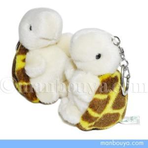 たけのこ(TAKENOKO)さんの亀のぬいぐるみ。 鞄などに取り付けられるバッグチャームタイプです。...