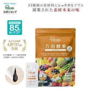 万田酵素 ジンジャー ペーストタイプ(2.5g×31包)分包 約31日分 公式 酵素 サプリ 健康食...