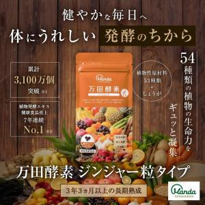 公式 万田酵素 ジンジャー 粒タイプ(約210粒)送料無料...