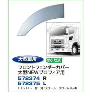 フロントフェンダー 日野NEWプロフィア 自動車パーツ 217|mandeichi