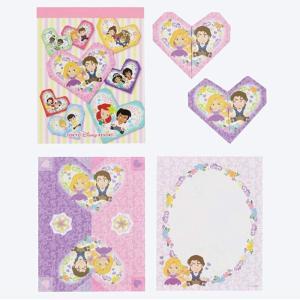 ディズニー プリンセス 8絵柄 折り紙メモ ディズニーリゾート限定 グッズ