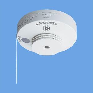 Panasonic 火災報知器 ねつ当番 SH28153K 一般型電池式単独型 熱感知式 移報接点付|mandm