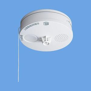 Panasonic 火災報知器 ねつ当番 SH38153 薄型電池式単独型 熱感知式 移報接点付|mandm