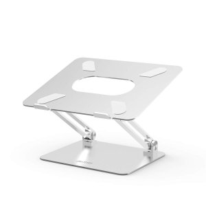 BoYata ノートパソコンスタンド パソコンスタンド PCスタンド 高さ/角度調整可能 姿勢改善 腰痛/猫背解消 折りたたみ式 ノートPCスタンド 滑り止め アルミ合金製