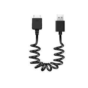 コアウェーブ Walkman USBケーブル ミニバンジー ブラック BL0067