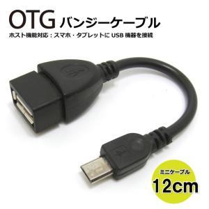 コアウェーブ OTG ホスト機能対応 変換アダプタ ケーブル BL0102OTG(ストレート, 黒)