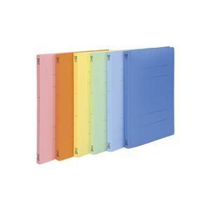 (業務用3セット)ビュートン PPフラットファイル バインダー 2穴 FF-A4S A4S 橙10冊 ×3セット