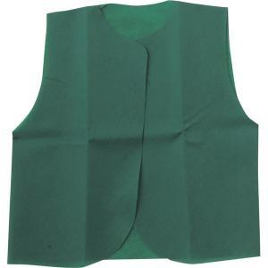 (まとめ)アーテック 衣装ベース 〔J ベスト〕 不織布 グリーン(緑) 〔×30セット〕