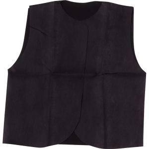 (まとめ)アーテック 衣装ベース 〔J ベスト〕 不織布 ブラック(黒) 〔×30セット〕