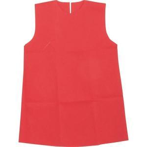 (まとめ)アーテック 衣装ベース 〔J ワンピース〕 不織布 レッド(赤) 〔×30セット〕