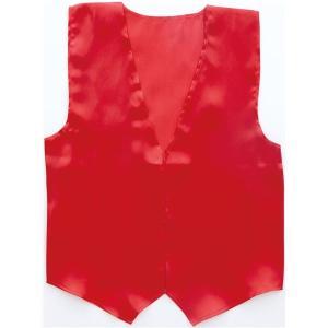 (まとめ)アーテック 衣装ベース 〔サテンベスト〕 大 レッド(赤) 〔×15セット〕