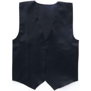 (まとめ)アーテック 衣装ベース 〔サテンベスト〕 大 ブラック(黒) 〔×15セット〕