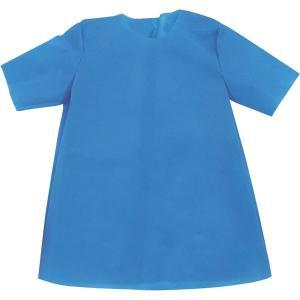 (まとめ)アーテック 衣装ベース 〔S シャツ〕 不織布 ブルー(青) 〔×30セット〕