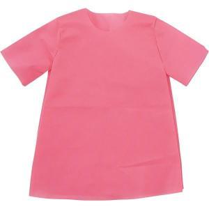 (まとめ)アーテック 衣装ベース 〔S シャツ〕 不織布 ピンク(桃) 〔×30セット〕