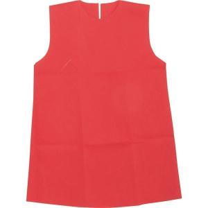 (まとめ)アーテック 衣装ベース 〔S ワンピース〕 不織布 レッド(赤) 〔×30セット〕