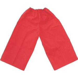 (まとめ)アーテック 衣装ベース 〔S ズボン〕 不織布 レッド(赤) 〔×15セット〕