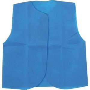 (まとめ)アーテック 衣装ベース 〔C ベスト〕 不織布 ブルー(青) 〔×30セット〕