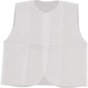 (まとめ)アーテック 衣装ベース 〔C ベスト〕 不織布 ホワイト(白) 〔×30セット〕