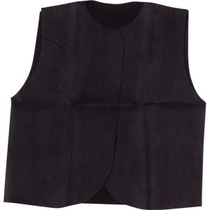 (まとめ)アーテック 衣装ベース 〔C ベスト〕 不織布 ブラック(黒) 〔×30セット〕