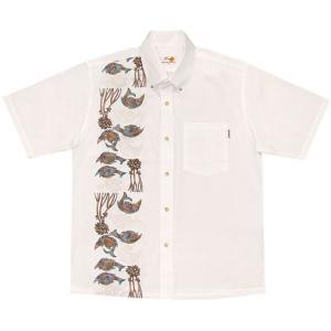 かりゆしウェア(沖縄アロハシャツ)メンズ SALE MANG...