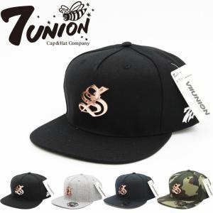 7UNION セブンユニオン メンズ 帽子 IFVW-182-GOLD 7THUNDER METAL|maniac