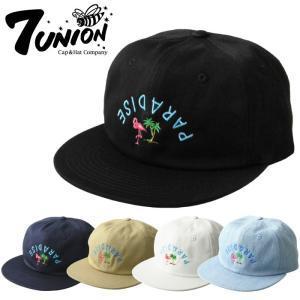7UNION セブンユニオン ユニセックス 帽子 ICWX-119 PARADICE CITY キャップ ハット スナップバックキャップ メンズ レディース|maniac