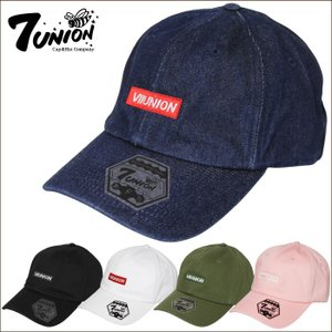 7UNION セブンユニオン ユニセックス 帽子 IAVW-160 BOX ICON BENT キャップ ハット|maniac