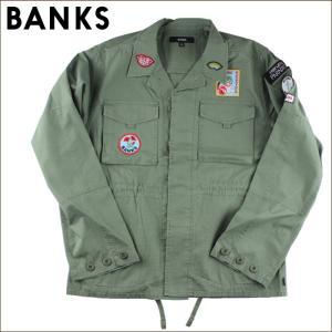 日本正規代理店品 BANKS バンクス メンズ トップス AJT0027 FREEDOM maniac