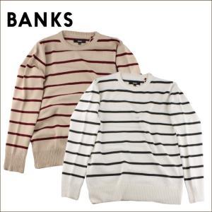 日本正規代理店品 BANKS バンクス メンズ トップス AKN0022 RIVER KNIT maniac