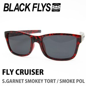 BLACK FLYS ブラックフライズ サングラス FLY CURUISER S.GARNET SMOKEY TORT / SOMKE POL|maniac