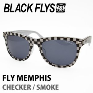 BLACK FLYS ブラックフライズ サングラス FLY MEMPHIS CHECKER / SMOKE|maniac