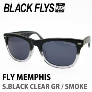 BLACK FLYS ブラックフライズ サングラス FLY MEMPHIS S.BLACK CLEAR GR / SMOKE|maniac