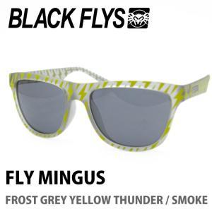 BLACK FLYS ブラックフライズ サングラス FLY MINGUS FROST GREY YELLOW THUNDER / SMOKE|maniac