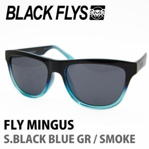 BLACK FLYS ブラックフライズ サングラス FLY MINGUS S.BLACK BLUE GR / SMOKE 【火曜日発送不可】|maniac