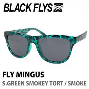 BLACK FLYS ブラックフライズ サングラス FLY MINGUS S.GREEN SMOKEY TORT / SMOKE|maniac