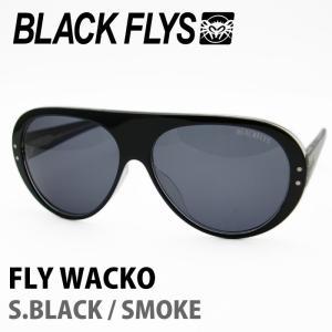 BLACK FLYS ブラックフライズ サングラス FLY WACKO S.BLACK / SMOKE 【火曜日発送不可】|maniac