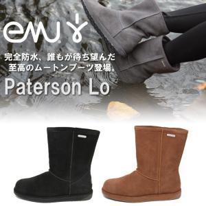 2014年モデル 日本正規品 emu エミュー シープスキンブーツ パターソンロー 男女兼用 W10771|maniac