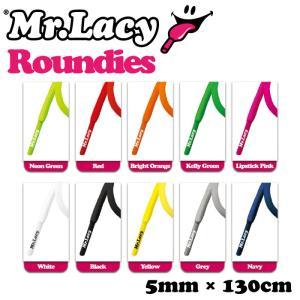靴ひも シューレース スニーカー用 Mr.Lacy ミスターレーシー Roundies ラウンディーズ 約130cm 丸ひも|maniac