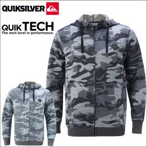QUIKSILVER クイックシルバー メンズ パーカー QZP174013 QUIK SPACER+ HOODIE ZIP クイックスペーサー ジップパーカー|maniac
