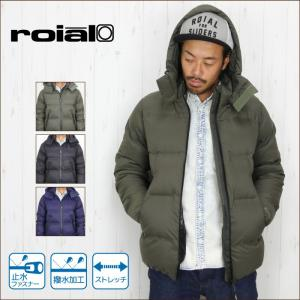 ROIAL ロイアル メンズ ジャケット DW41 STEALTH アウター ダウンジャケット|maniac