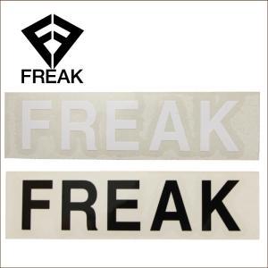 FREAK フリーク ステッカー シール LOGOMARK ロゴマーク カッティングステッカー|maniac