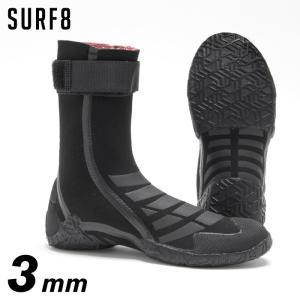 SURF8 サーフエイト キッズ用サーフブーツ 80F1K6 (89F1K6) 3mmスプリットソールブーツKIDS 起毛ジャージ 子供用3mmブーツ|maniac