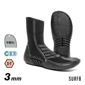 SURF8 サーフエイト サーフブーツ 80F1W4 3mmスプリットソールブーツ 遠赤ジャージ/IFR 3mmブーツ サーフ8|maniac